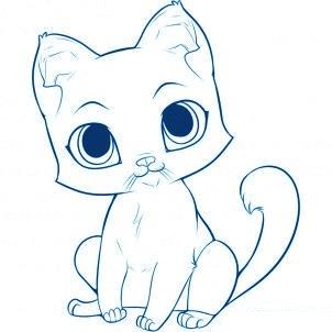 dessiner un chat - etape 5