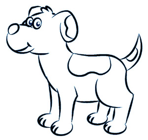 dessiner un chien etape 5