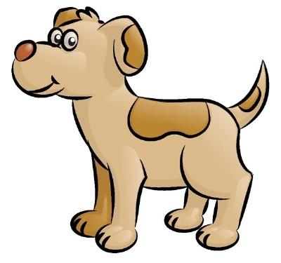 dessin de chien terminé