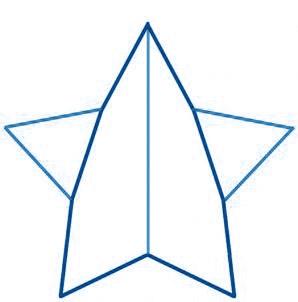 dessiner une étoile - etape 3
