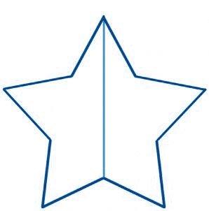dessiner une étoile - etape 4