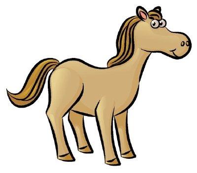 dessin de cheval terminé