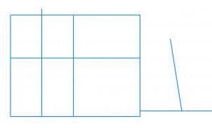 dessiner une maison - etape 1