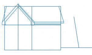 dessiner une maison - etape 2