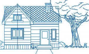 dessiner une maison - etape 7
