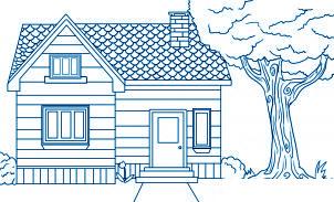 dessiner une maison - etape 8