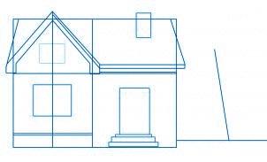 dessiner une maison - etape 3