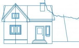 dessiner une maison - etape 4