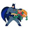 dessin de Batman et Robin