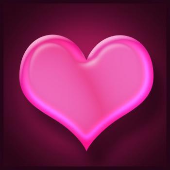 dessin de coeur terminé