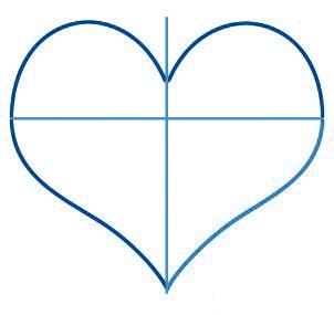 dessiner un coeur - etape 5