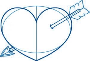 dessiner un coeur - etape 4
