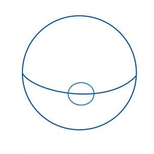 dessiner une pokeball - etape 3