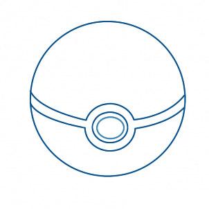dessiner une pokeball - etape 5