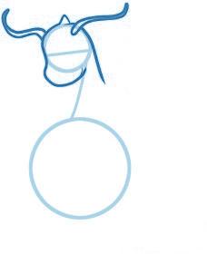 dessiner un dracaufeu le pokemon - etape 2
