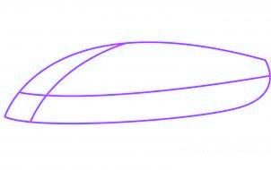 dessiner une voiture de sport lamborghini murcielago - etape 1