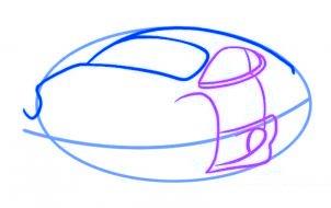 dessiner une voiture - etape 3