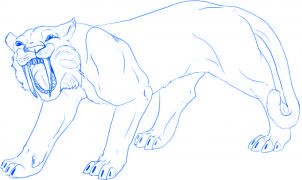 Apprendre a dessiner un tigre allodessin - Comment dessiner un tigre ...
