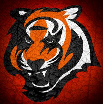 dessin de tigre termine terminé