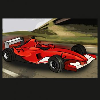 comment dessiner une voiture de formule 1 allodessin. Black Bedroom Furniture Sets. Home Design Ideas