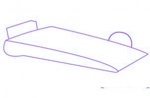 dessiner une voiture de Formule 1 - etape 1