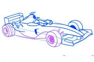 dessiner une voiture de Formule 1 - etape 5