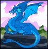 dessin de dragon termine