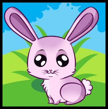 Comment dessiner un lapin de cartoon allodessin - Dessin un lapin ...