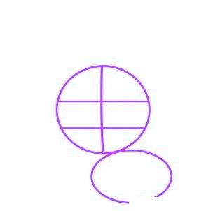 dessiner un lapin - etape 1