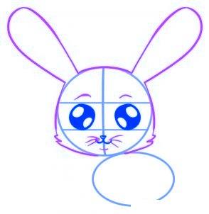 dessiner un lapin - etape 3