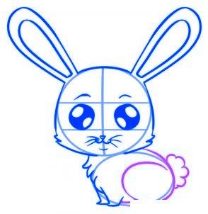 dessiner un lapin - etape 5