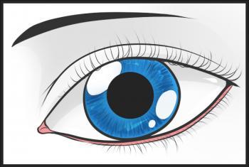 dessin oeil termine terminé