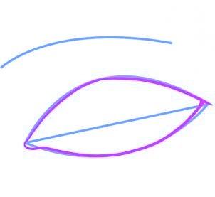 dessiner un oeil - etape 2