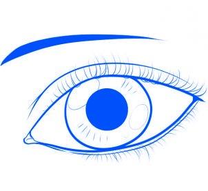 dessiner un oeil - etape 6