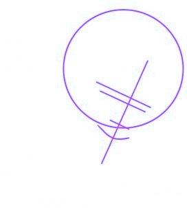 dessiner rihanna - etape 1
