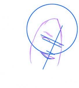 dessiner rihanna - etape 2
