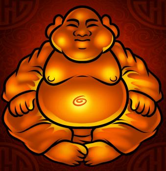 dessin de bouddha termine terminé