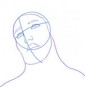 dessiner jesus - etape 3