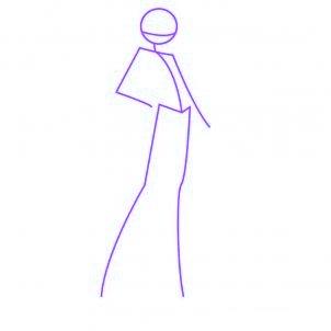 dessiner layla des winx - etape 1