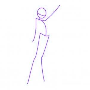 dessiner musa des winx - etape 1