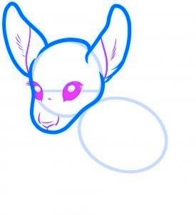 dessiner un kangourou - etape 3