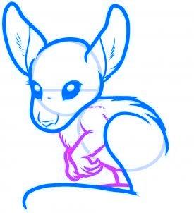 dessiner un kangourou - etape 5