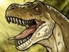 dessin de dinosaure t rex termine