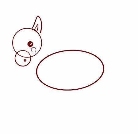 dessiner une licorne facile - etape 2