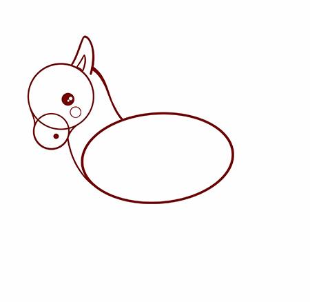 dessiner une licorne facile - etape 3