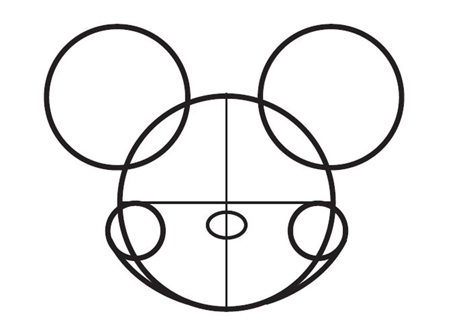 Comment Dessiner Mickey De Disney Allodessin