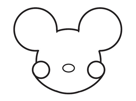 dessiner Mickey de disney - etape 5