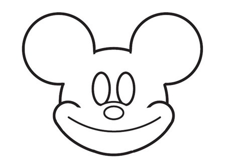 dessiner Mickey de disney - etape 6
