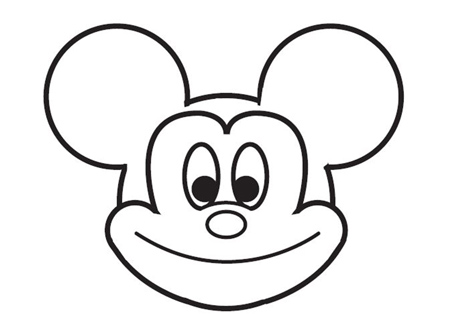 dessiner Mickey de disney - etape 7
