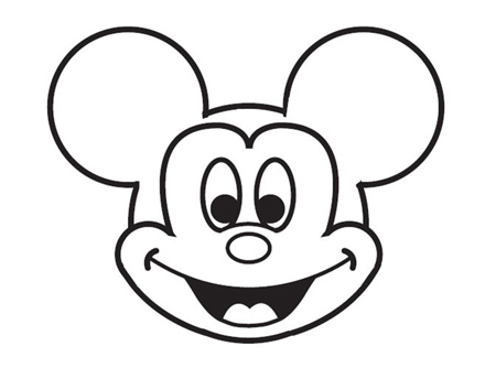 dessiner Mickey de disney - etape 8